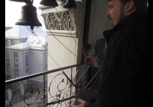 Звон колоколов г. Вильнюс (видео)