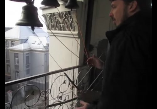 Звон ярославских колоколов г. Вильнюс (видео)